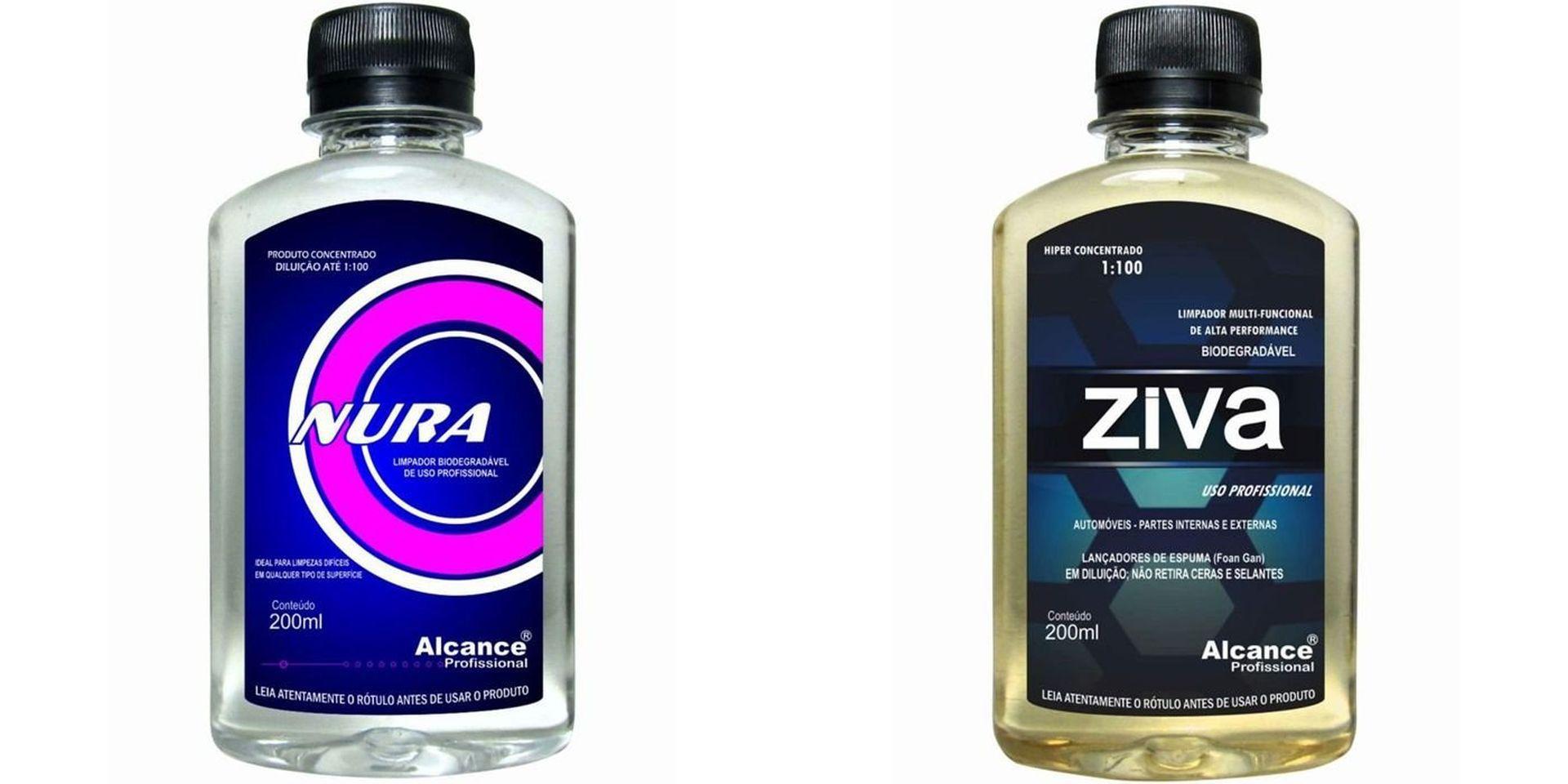 Kit Limpador Multi-funcional Ziva+Limpador Biodegradável Nura