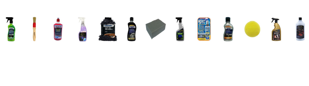 Kit Para Limpeza Automotiva