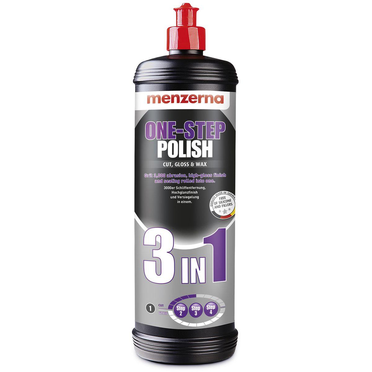 Kit Polidor 3 em 1+Medium Cut +Heavy Cut+Lustrador