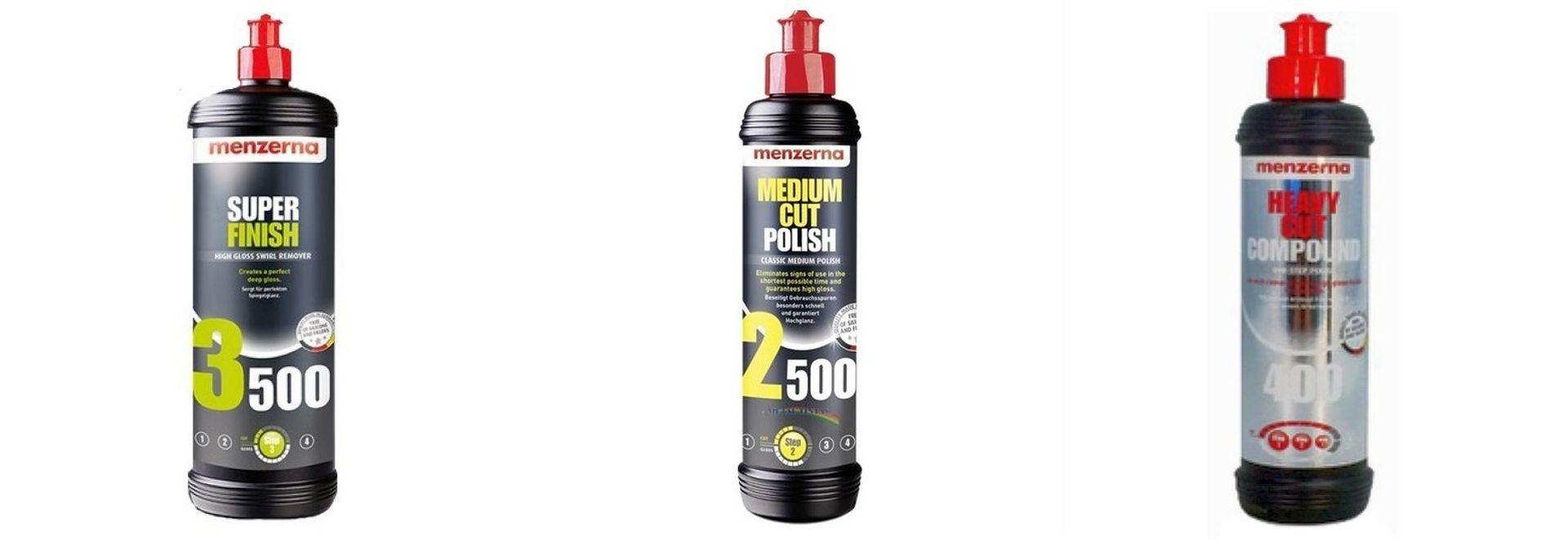 Kit Polidor FG400 +Medium Cut 2500 + Lustrado 3500