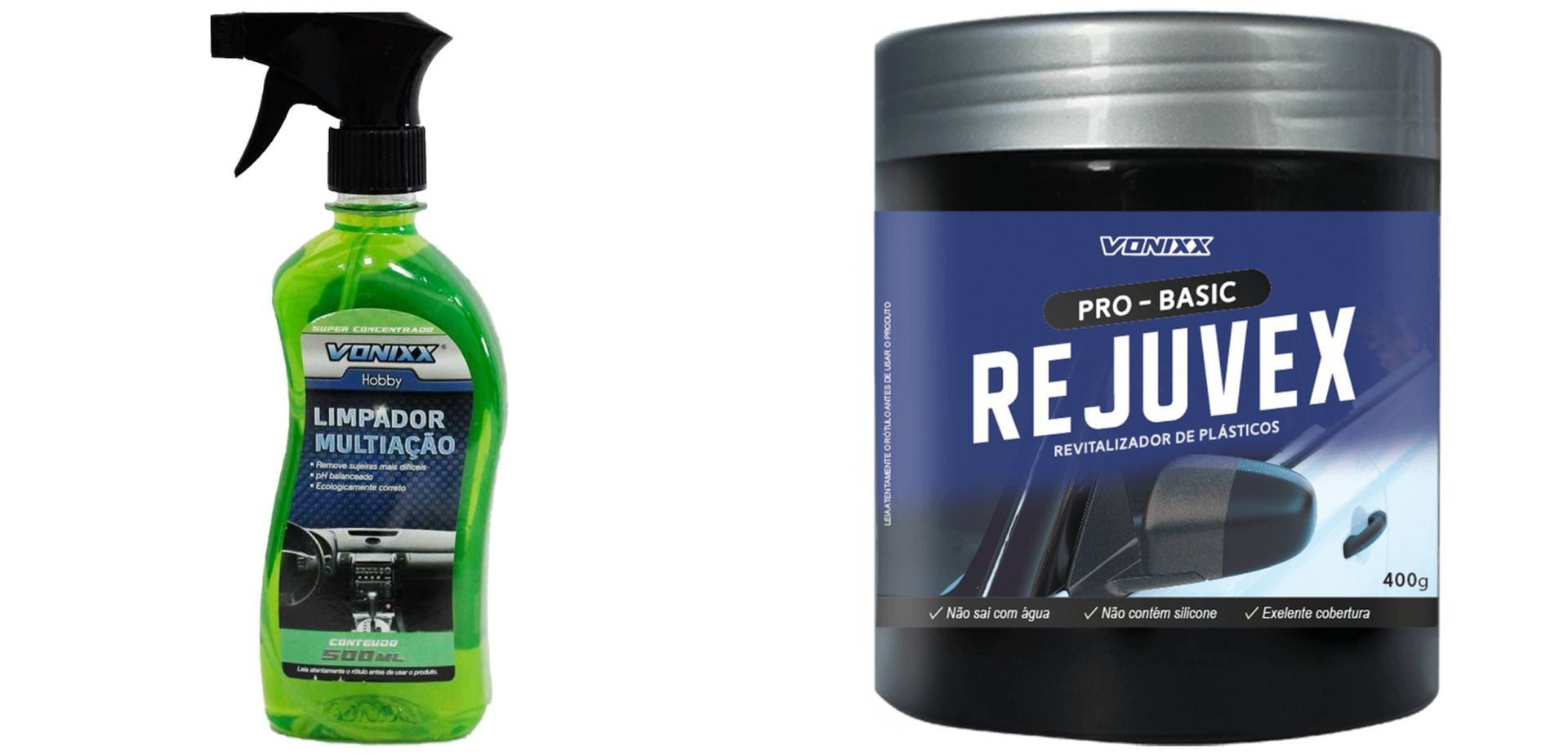 Kit Rejuvex 400g + Limpador Multiacao Apc 500ml