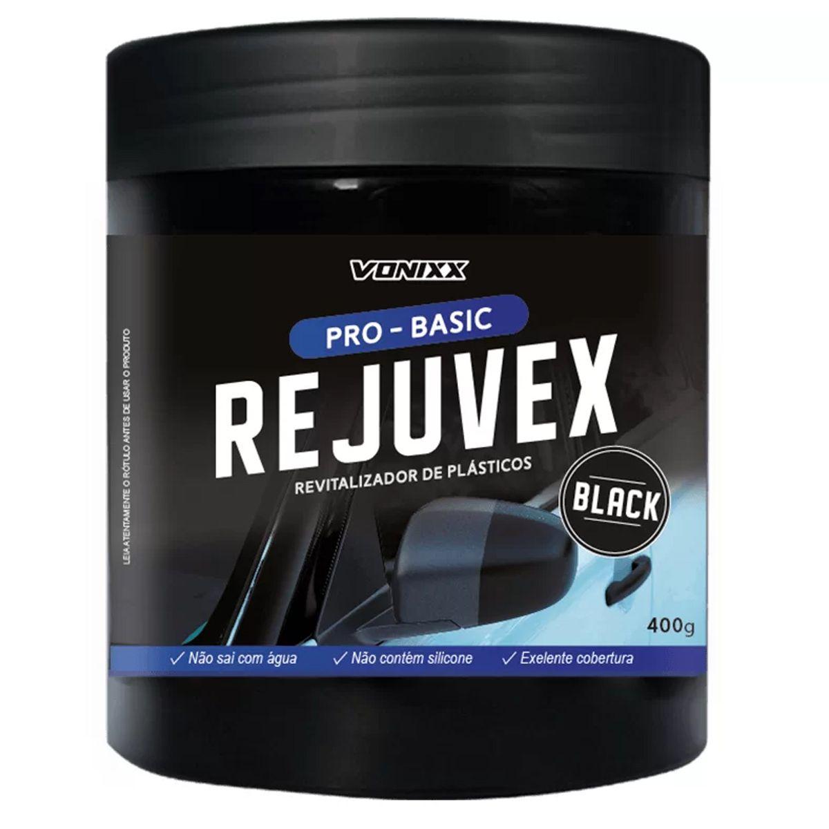 Kit Rejuvex Black+Espuma+Aplicador de Pretinho