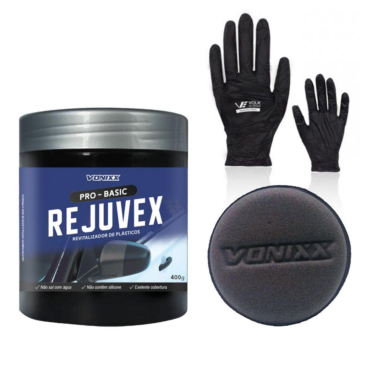 Kit Rejuvex + Espuma Aplicadora + Luva Sensivolk