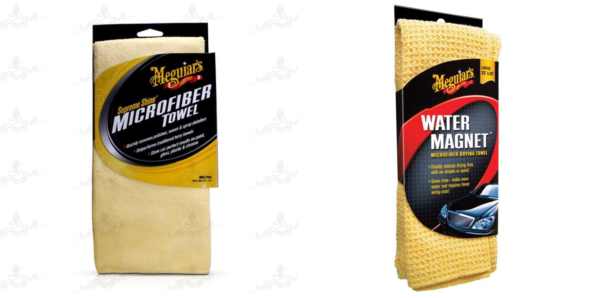 Kit Toalha Water Magnet, Flanela De Microfibra Supreme Shine