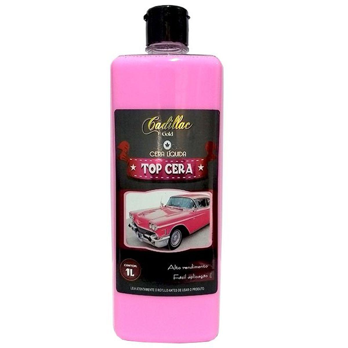 Kit Top Cera 1L+ Aromatizante Carro Novo 5L