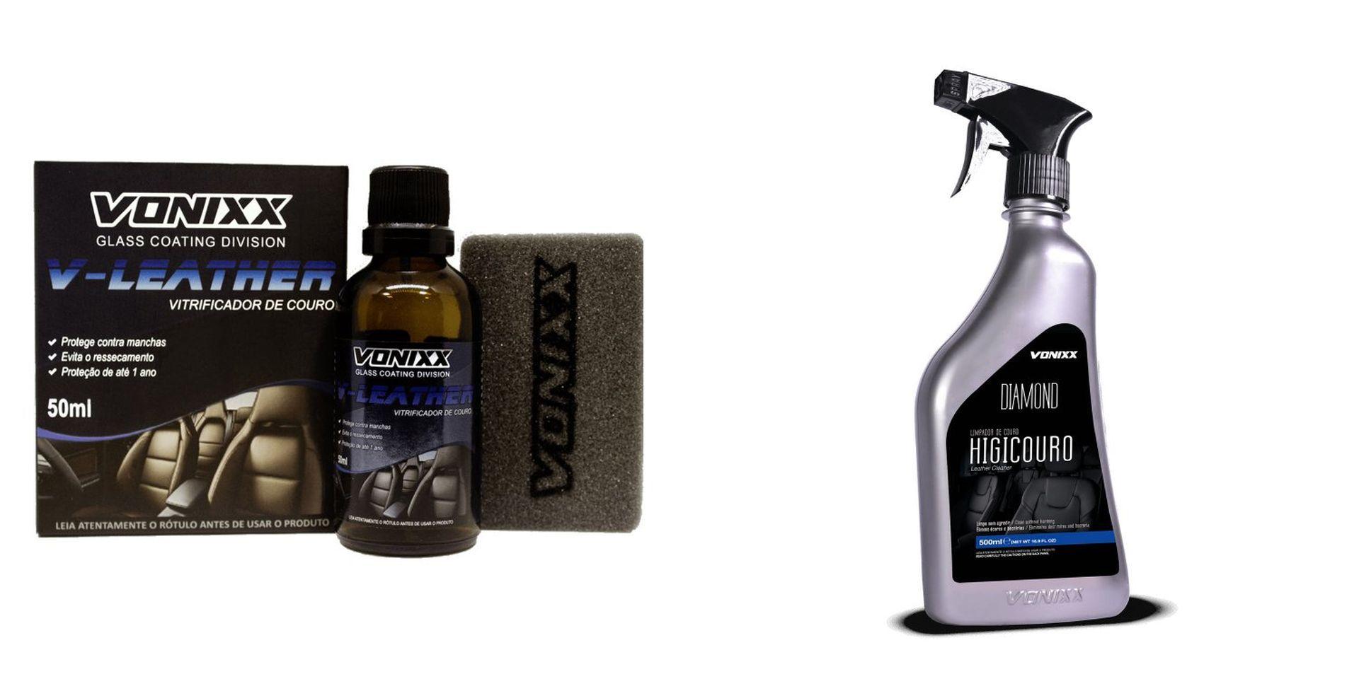 Kit V-Leather 50ml + Higicouro 500ml Vonixx