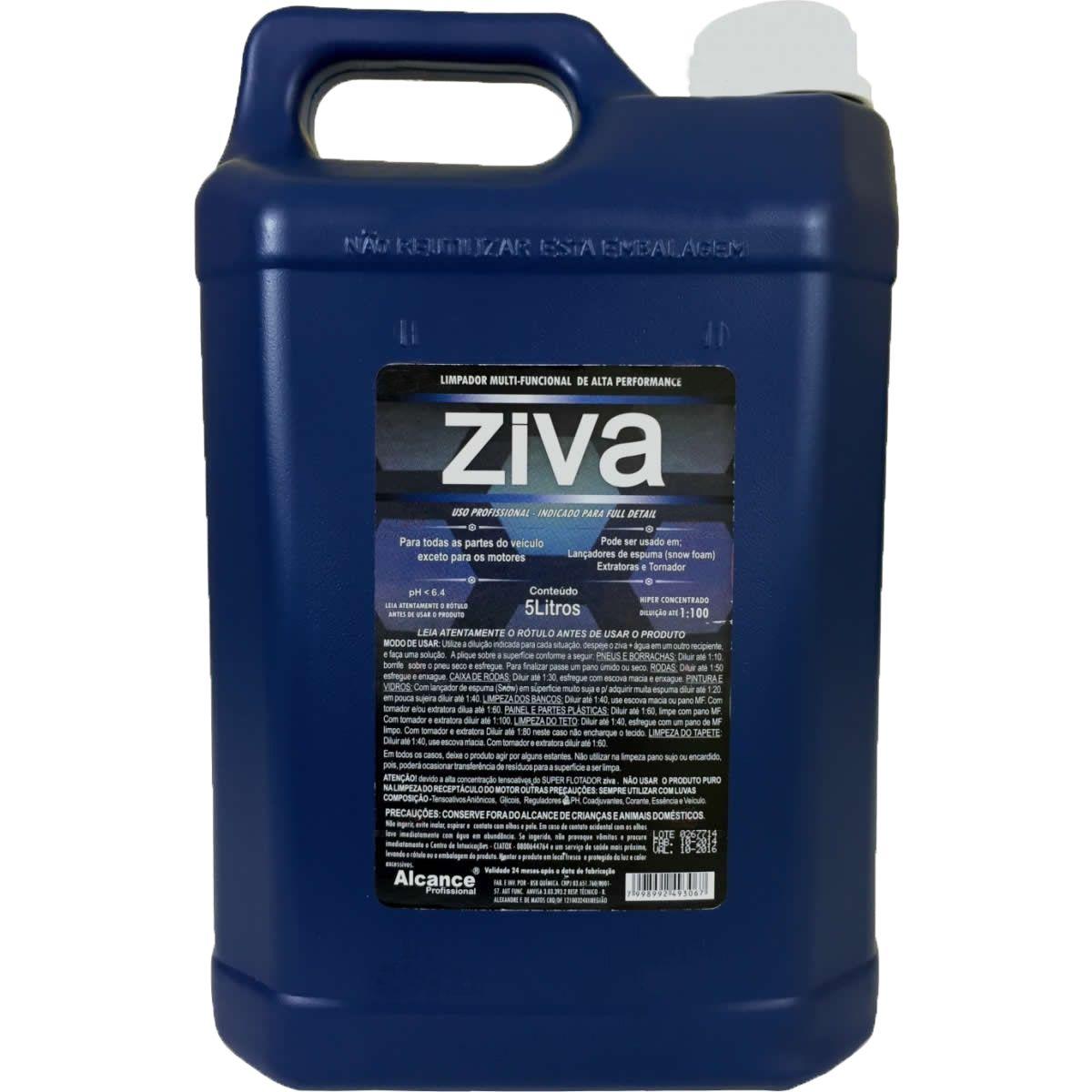 Kit Ziva+Sintra+Microlav+Luva+4 Un. Shampoo Extreme