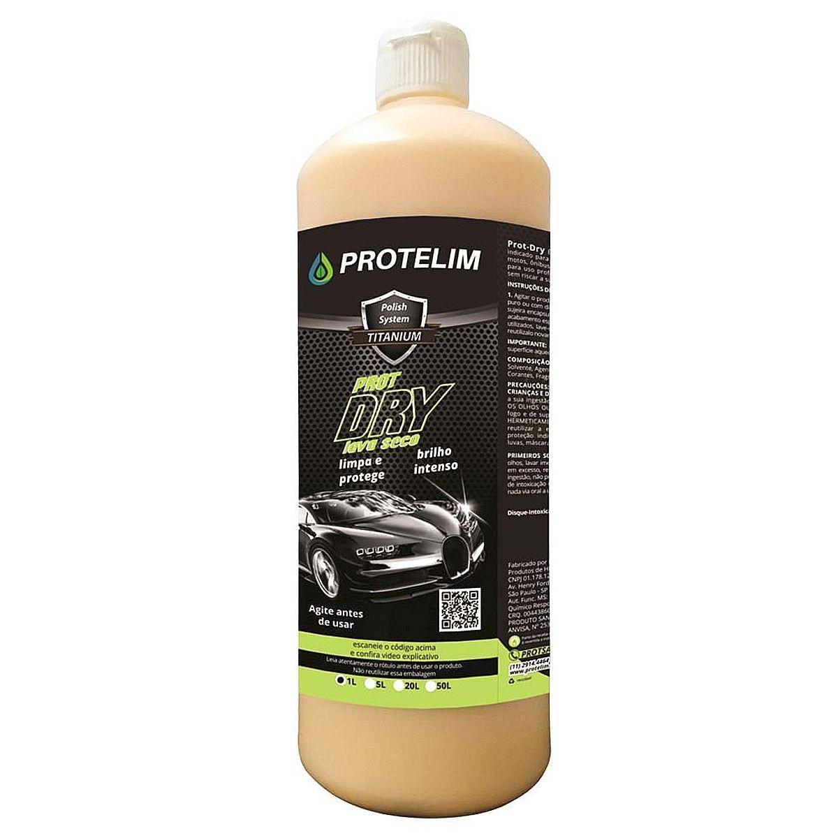 Lava a Seco Prot Dry 1L Protelim