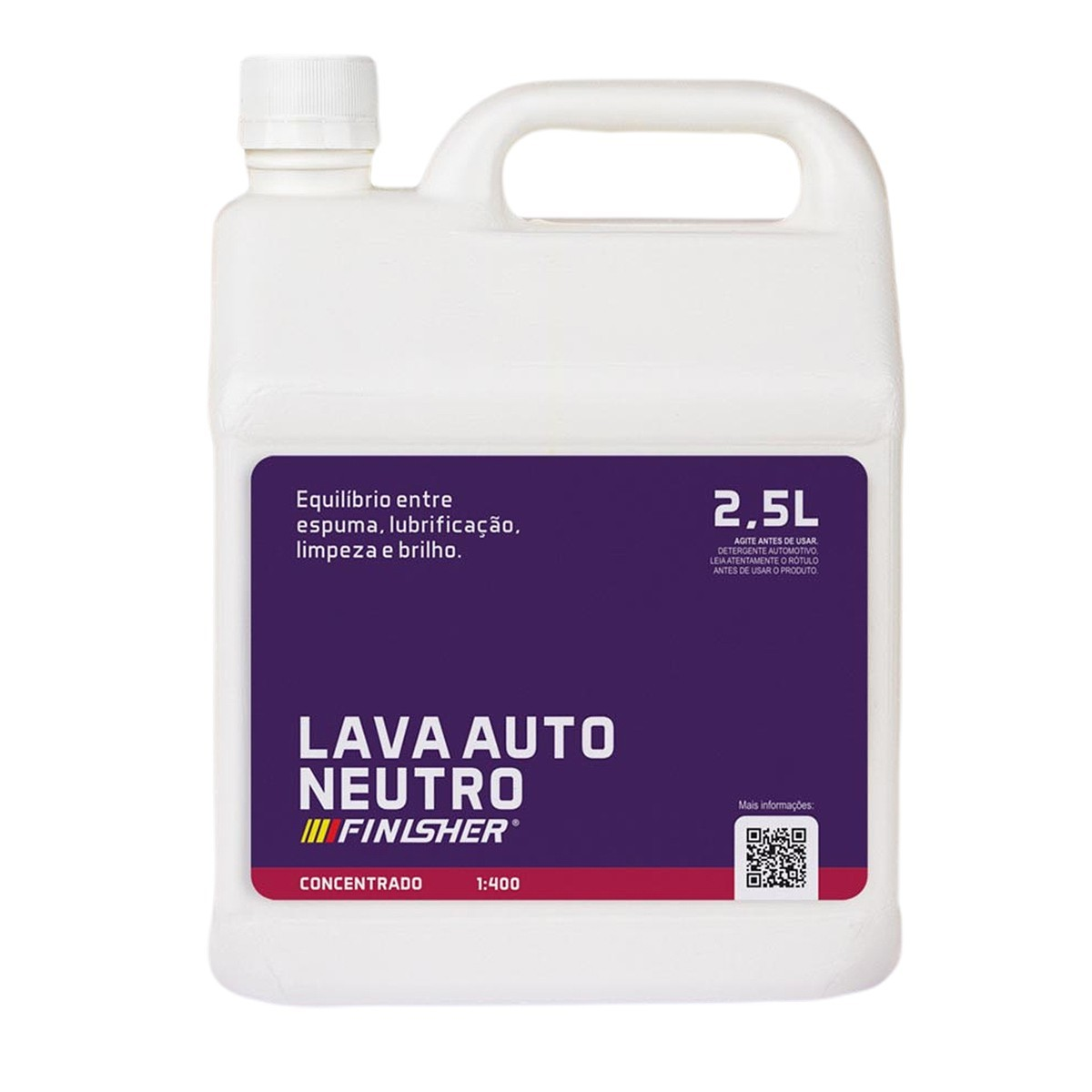 Lava Auto Neutro 2,5 Litros Finisher