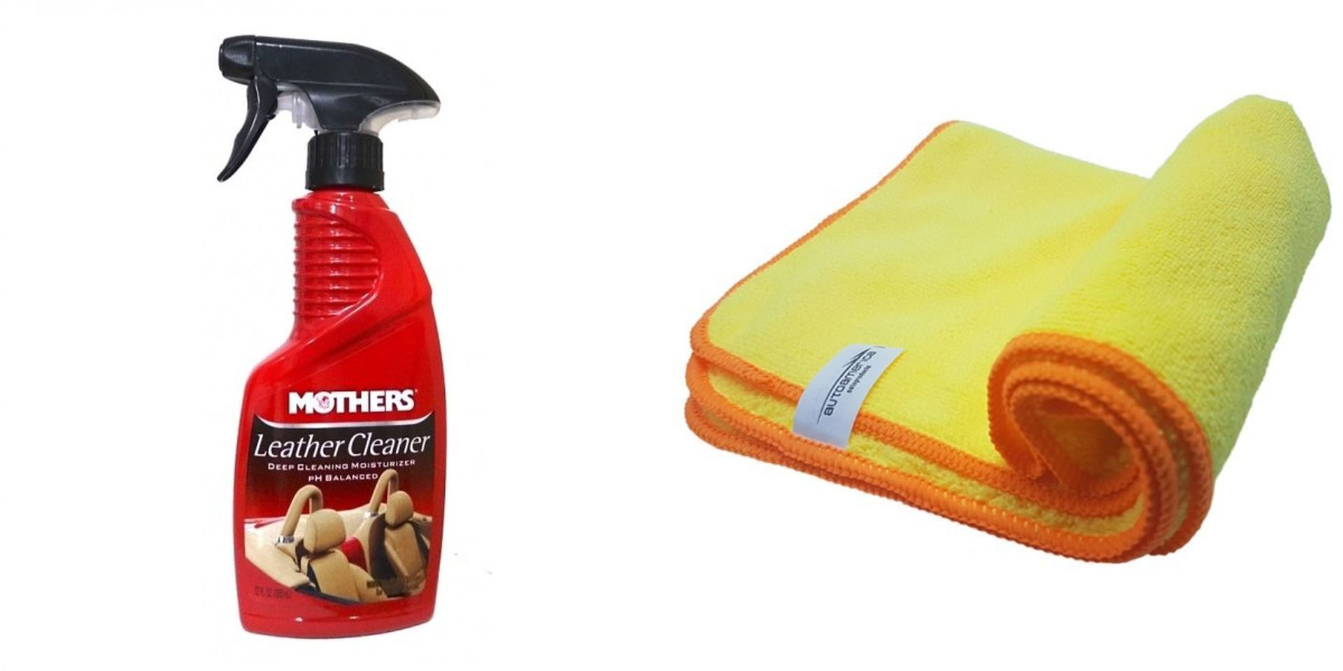 Leather Cleaner + Flanela 40x60 Autoamerica