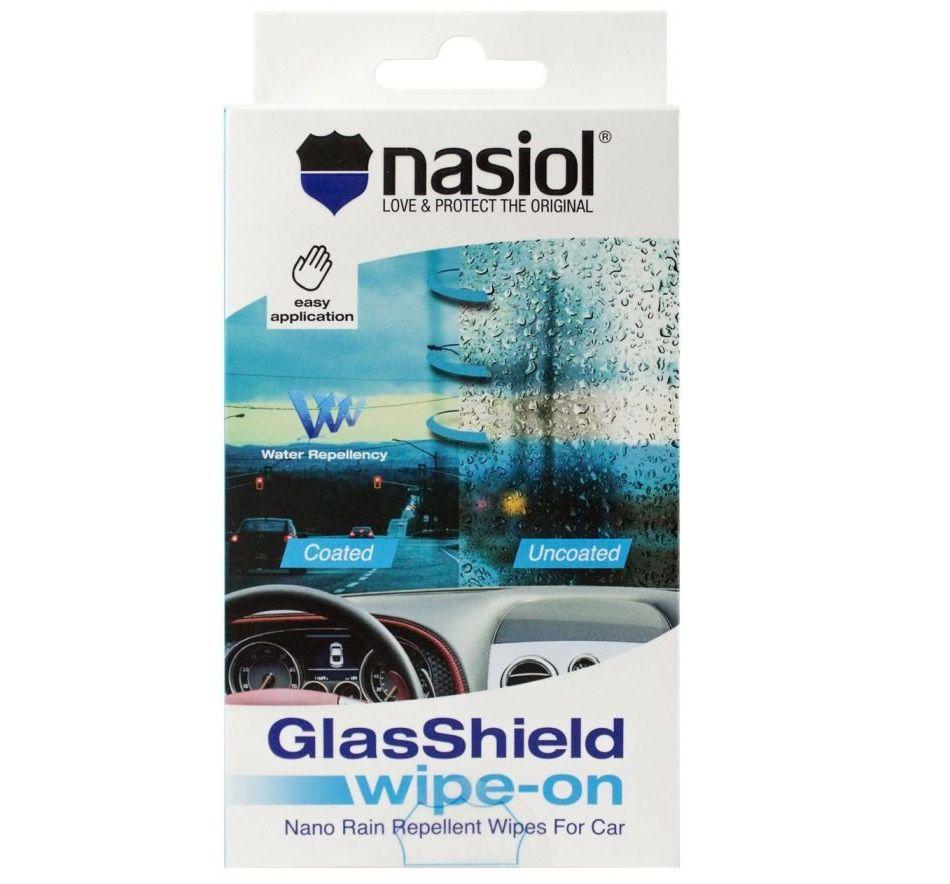 Lenço Repelente Glasshield Wipe-On Nasiol