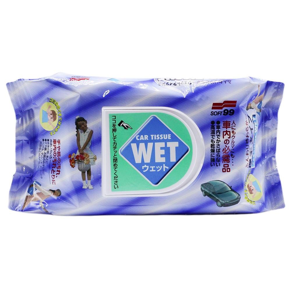 Lenço Umedecido Automotivo Car Tissue Soft99