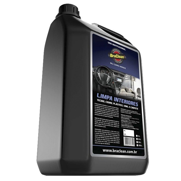 Limpa Interiores Car Care BraClean 5 Litros