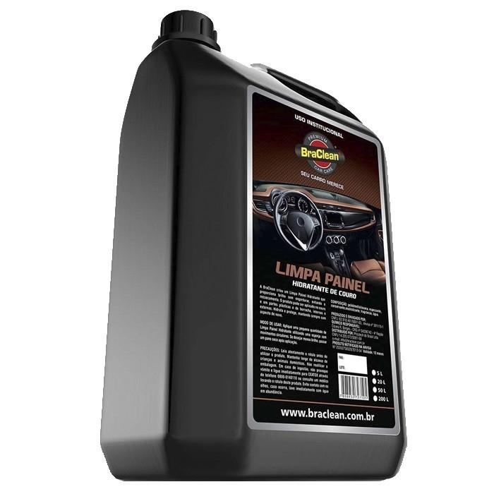 Limpa Painel e Hidratante de Couro Car Care BraClean 5 Litros