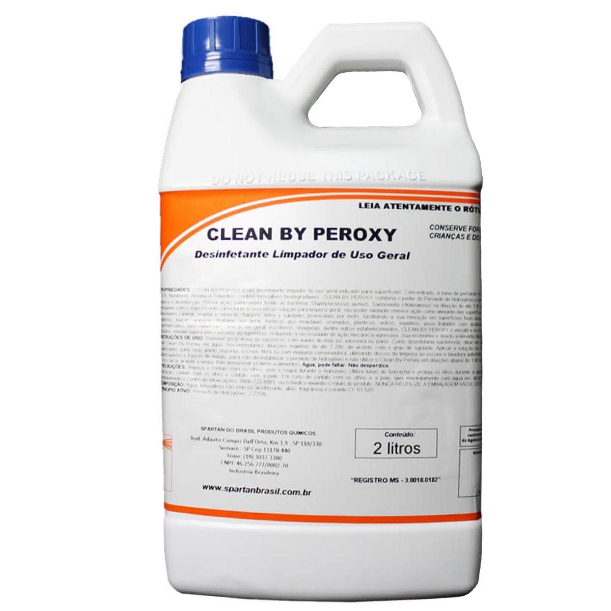 Limpador de uso geral Clean by Peroxy 2L Spartan