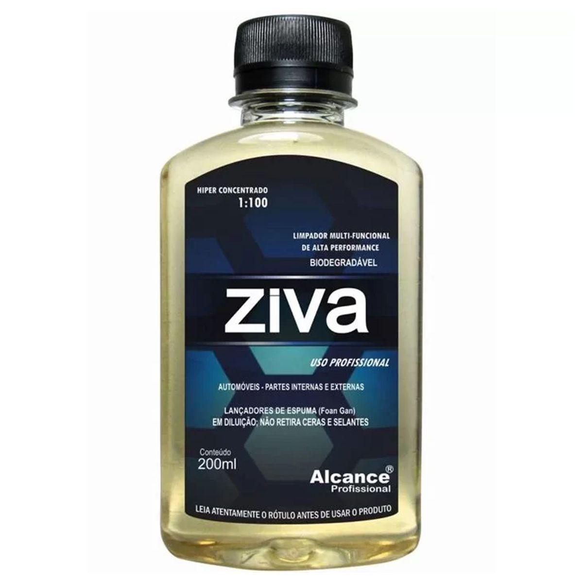 Limpador Multi-funcional 1-100 Ziva 200ml Alcance