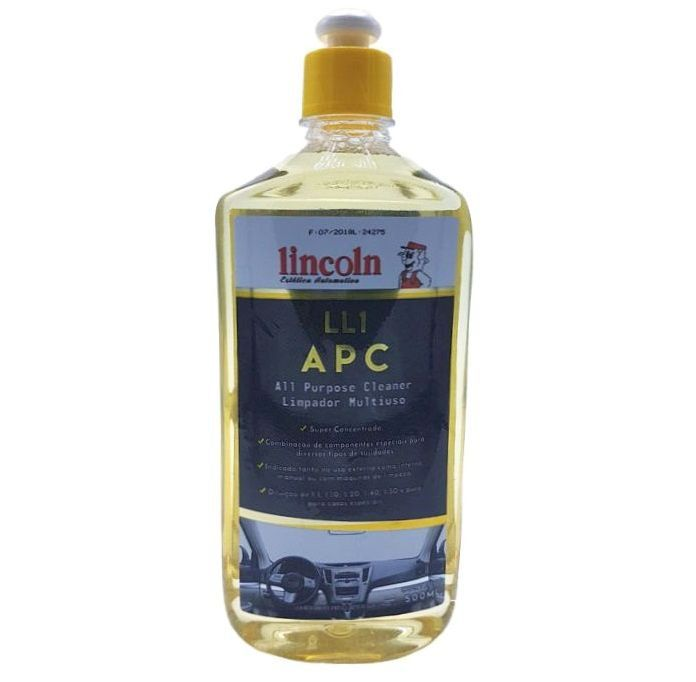 Limpador Multiuso LL1 Apc 500ml Lincoln