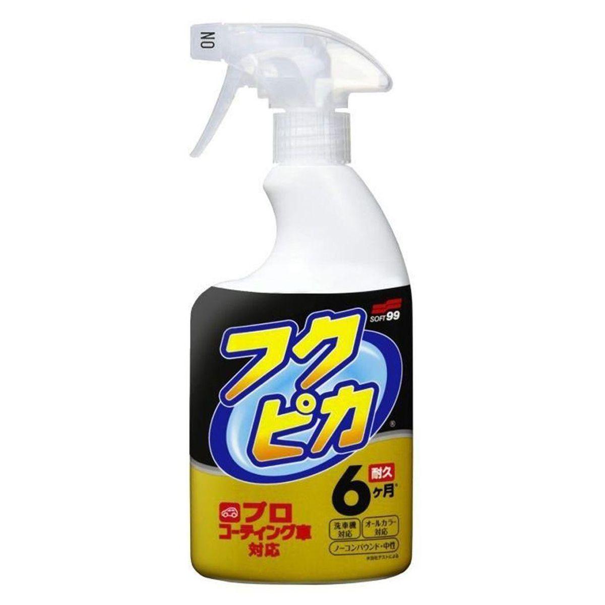 Limpeza A Seco Com Cera Fukupika Strong 400ml Soft99