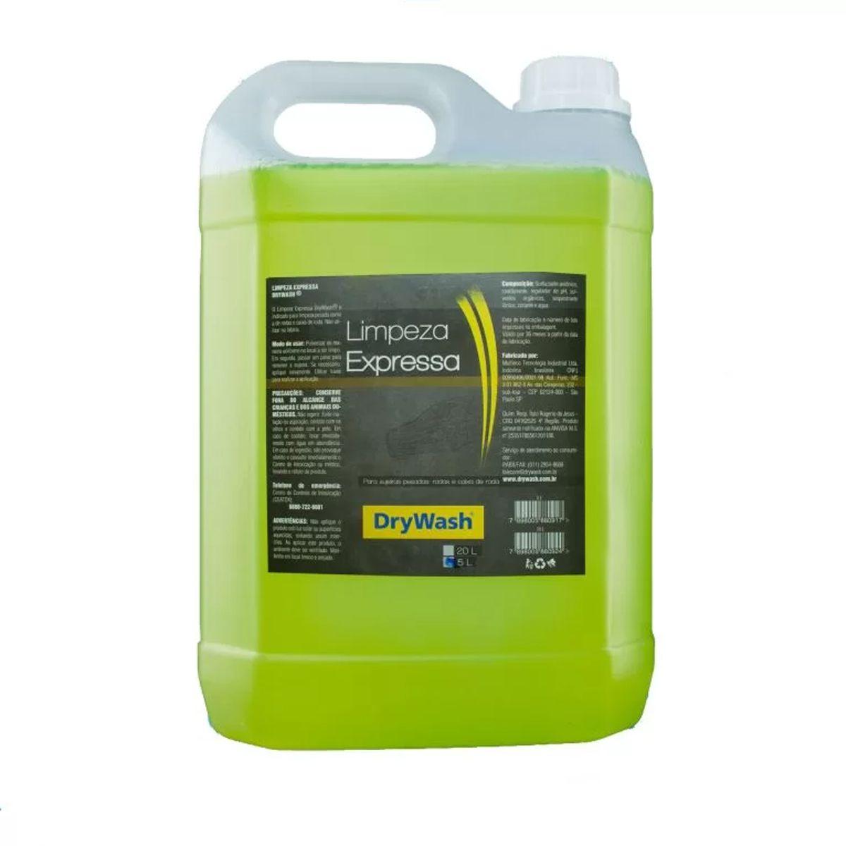 Limpeza Expressa Drywash 5 Litros