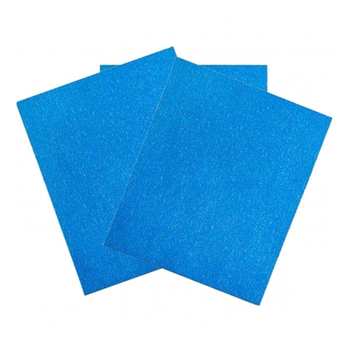 Lixa a Seco 338U Blue 220 225X275mm Unidade 3M