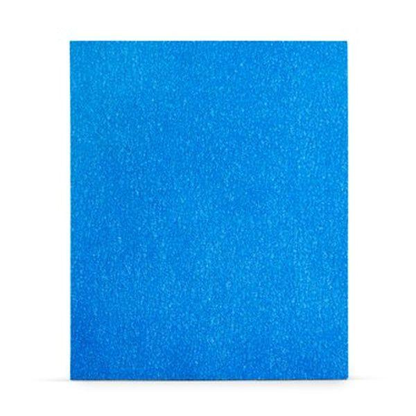 Lixa a Seco 338U Blue 600 225X275mm Unidade 3M