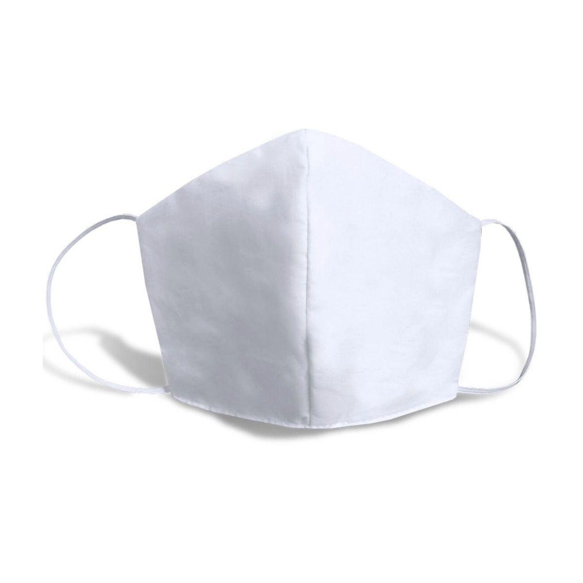 Máscara Caseira Lisa Branca SBRIO