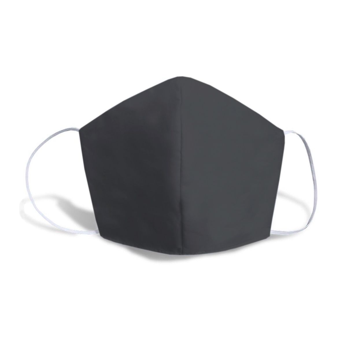 Máscara Caseira Lisa Cinza Escuro SBRIO