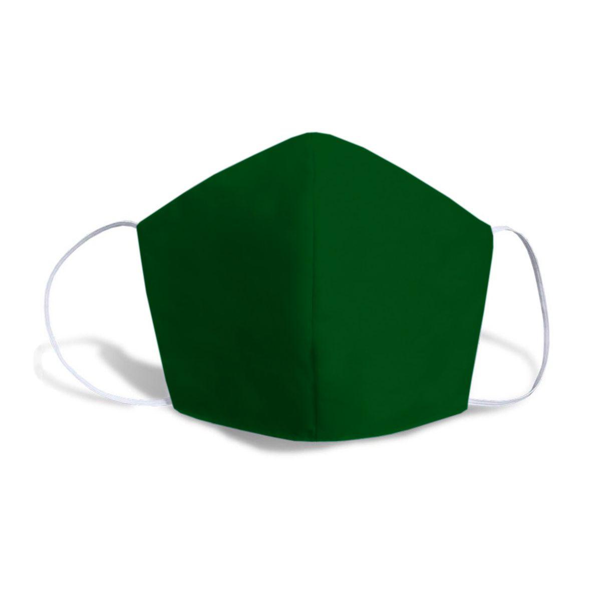 Máscara Caseira Lisa Verde SBRIO
