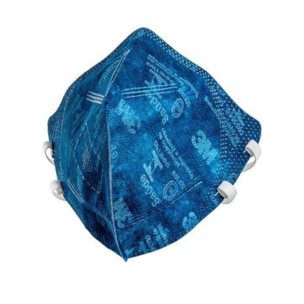 Máscara de Proteção Respiratória Dobrável PFF2 3M