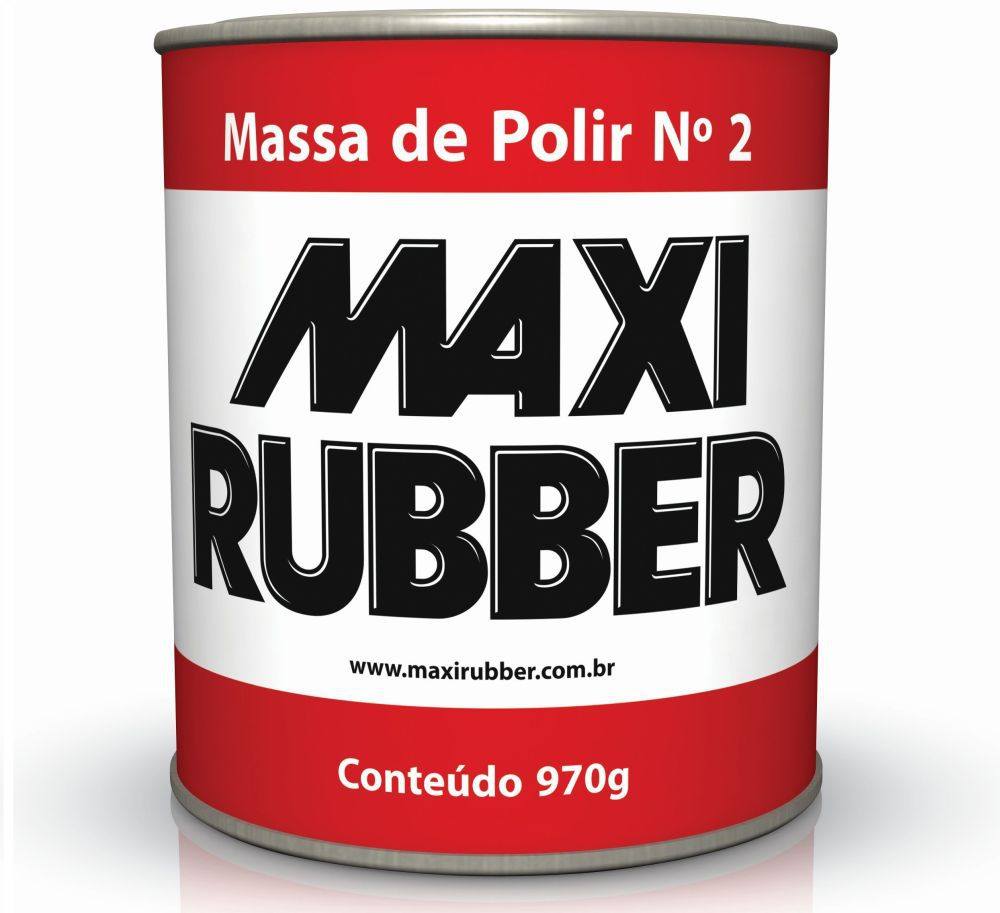 Massa de Polir 2 - 970g Maxi Rubber