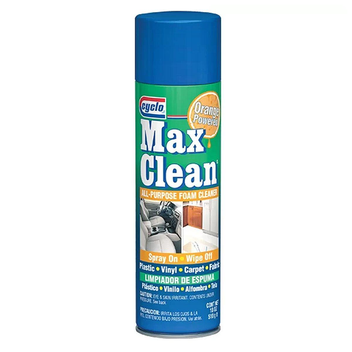 Max Clean All Purpose Foam Cleaner Espuma Limpadora de Superfícies Cyclo