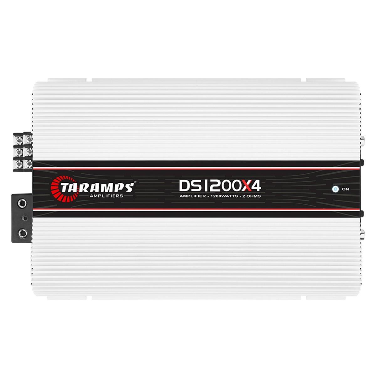 Módulo Amplificador DS 1200x4 Taramps Class D 2 OHMS 4 Canais 300 Watts RMS