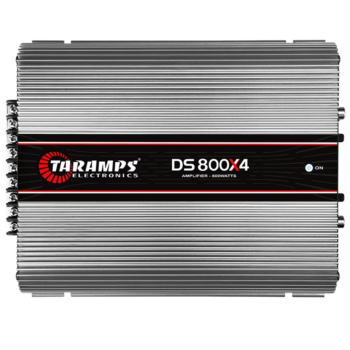 Módulo Amplificador Ds 800x4 Taramps 800w Rms 2 Ohms 4 Canais