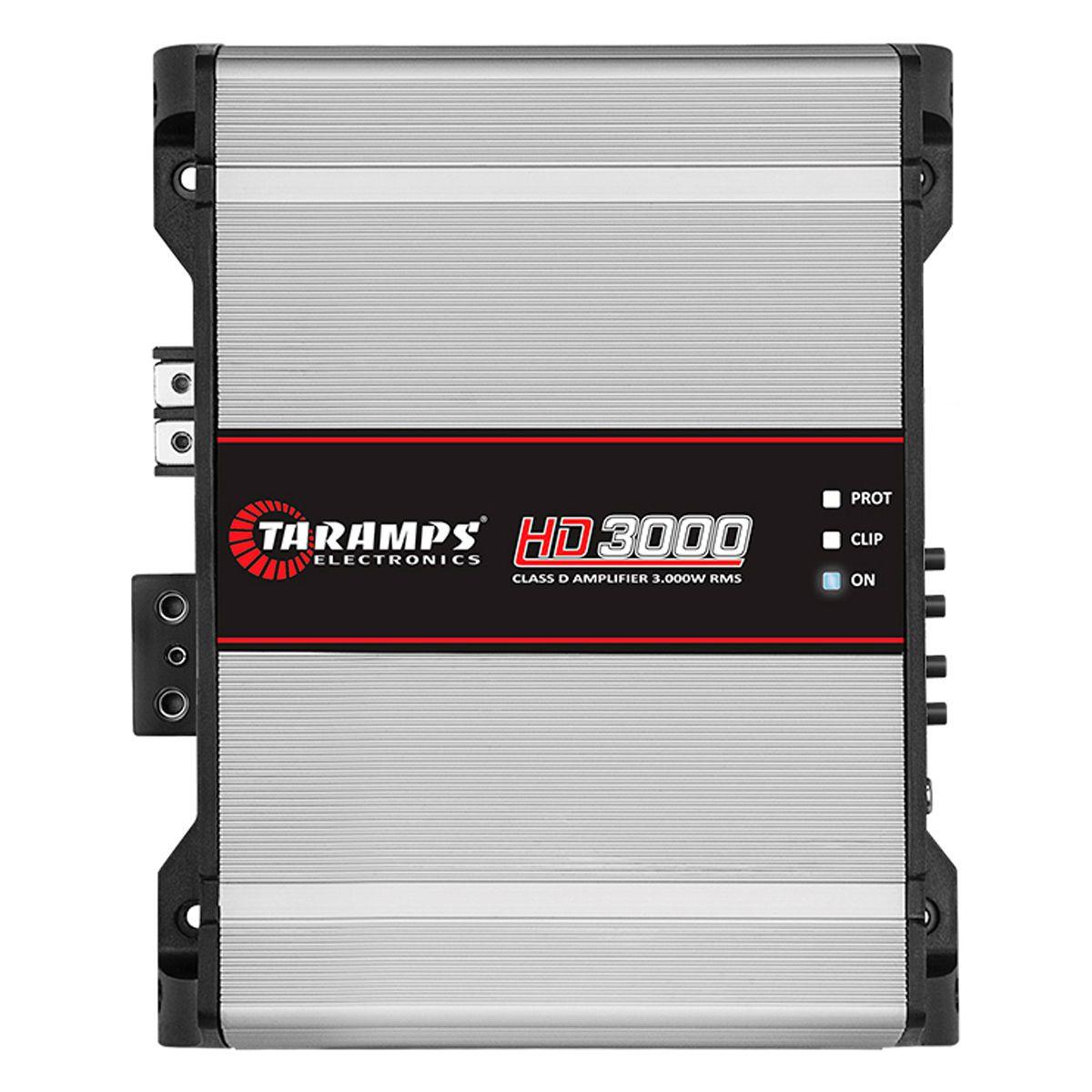 Módulo Amplificador HD 3000 2 Ohm Taramps 3000w Rms 1 Canal