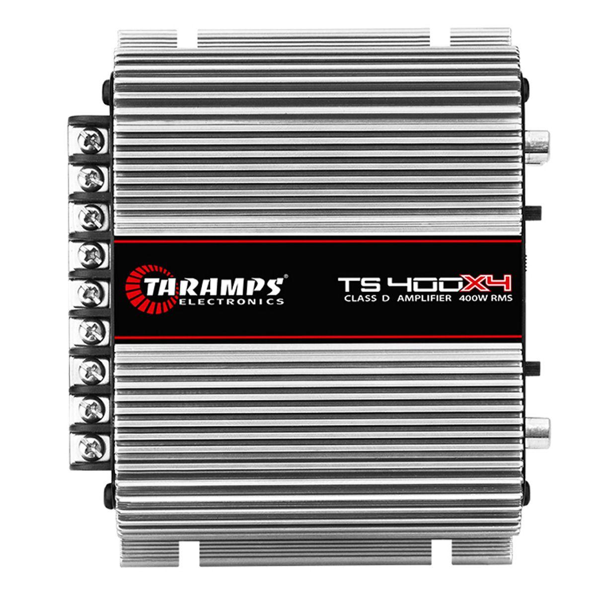 Módulo Amplificador TS 400x4 Taramps 400w Rms 4 Canais 100w Rms