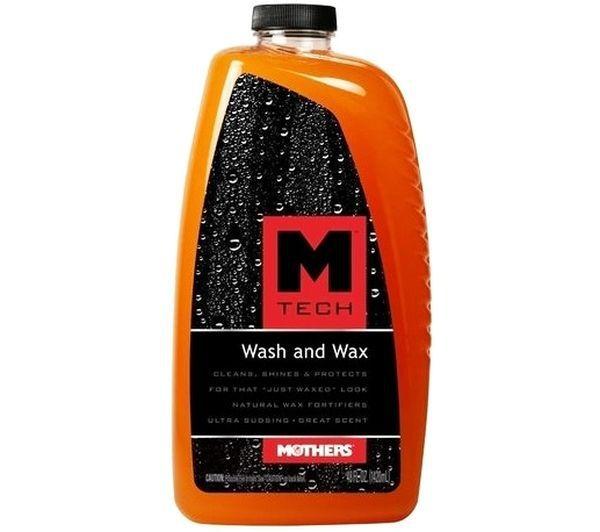 Mtech Wash e Wax Shampoo com Cera 1420ml Mothers