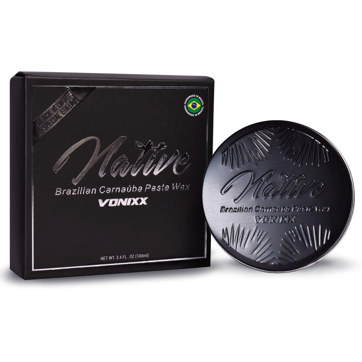 Native Paste Wax Black 100ml Vonixx
