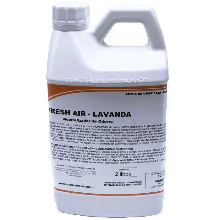 Neutralizador de odores Fresh Air Lavanda 2 Litros Spartan