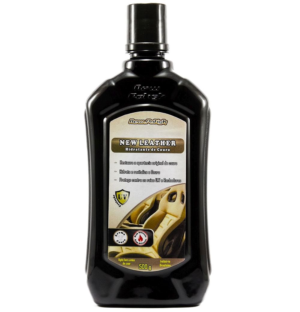New Leather Hidratante para Couro 500g New Polish