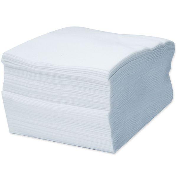 Pacote com 50 unidades Panos Descartaveis Wiper Obertech Liso Branco Ober
