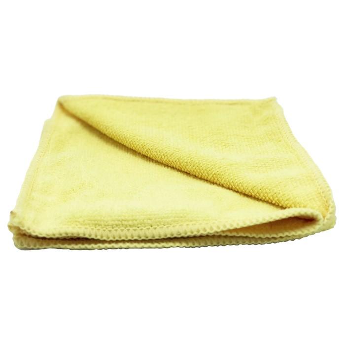 Pano de Microfibra 37x37cm 300Gsm Amarelo Unidade Mandala