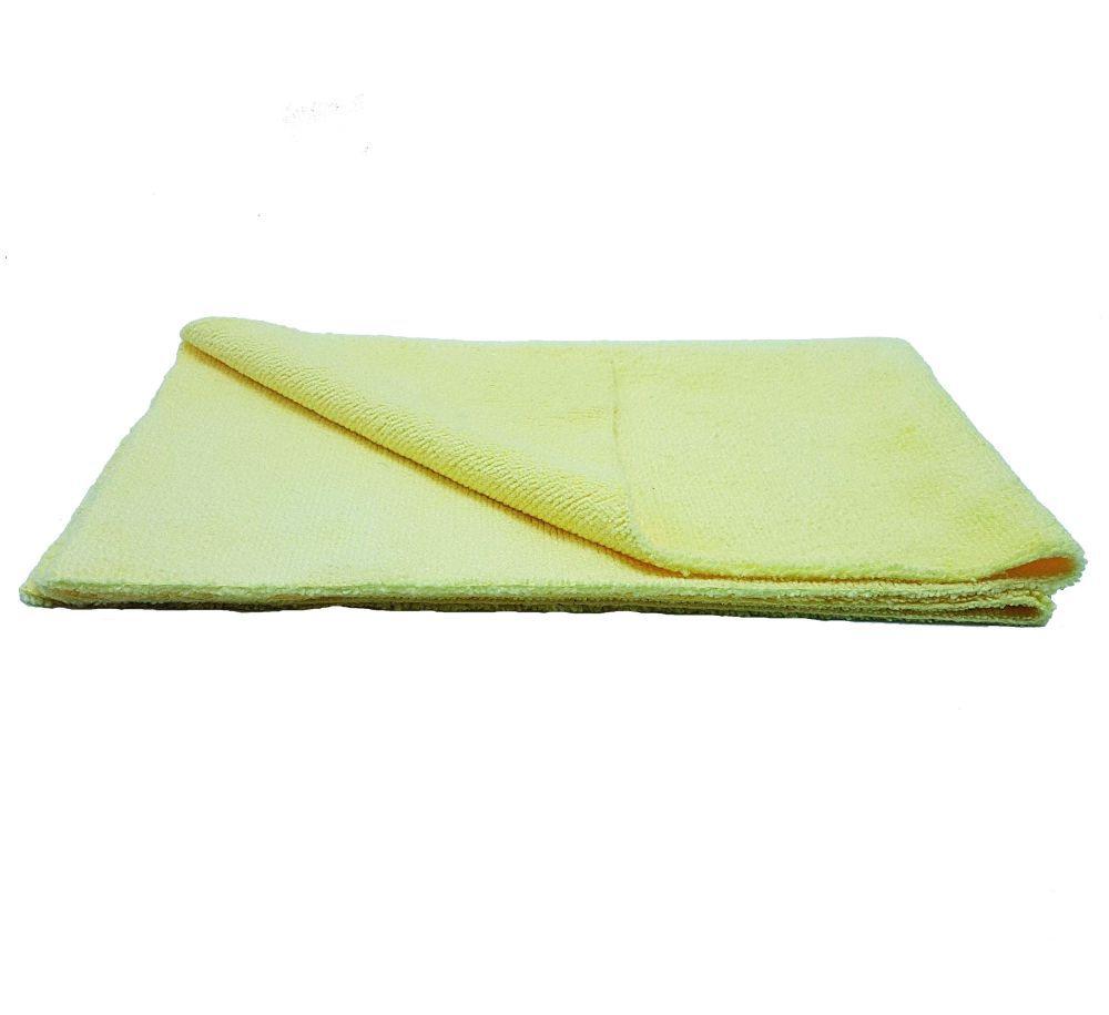 Pano de Microfibra 37x37Cm - 330Gsm Amarelo Mandala