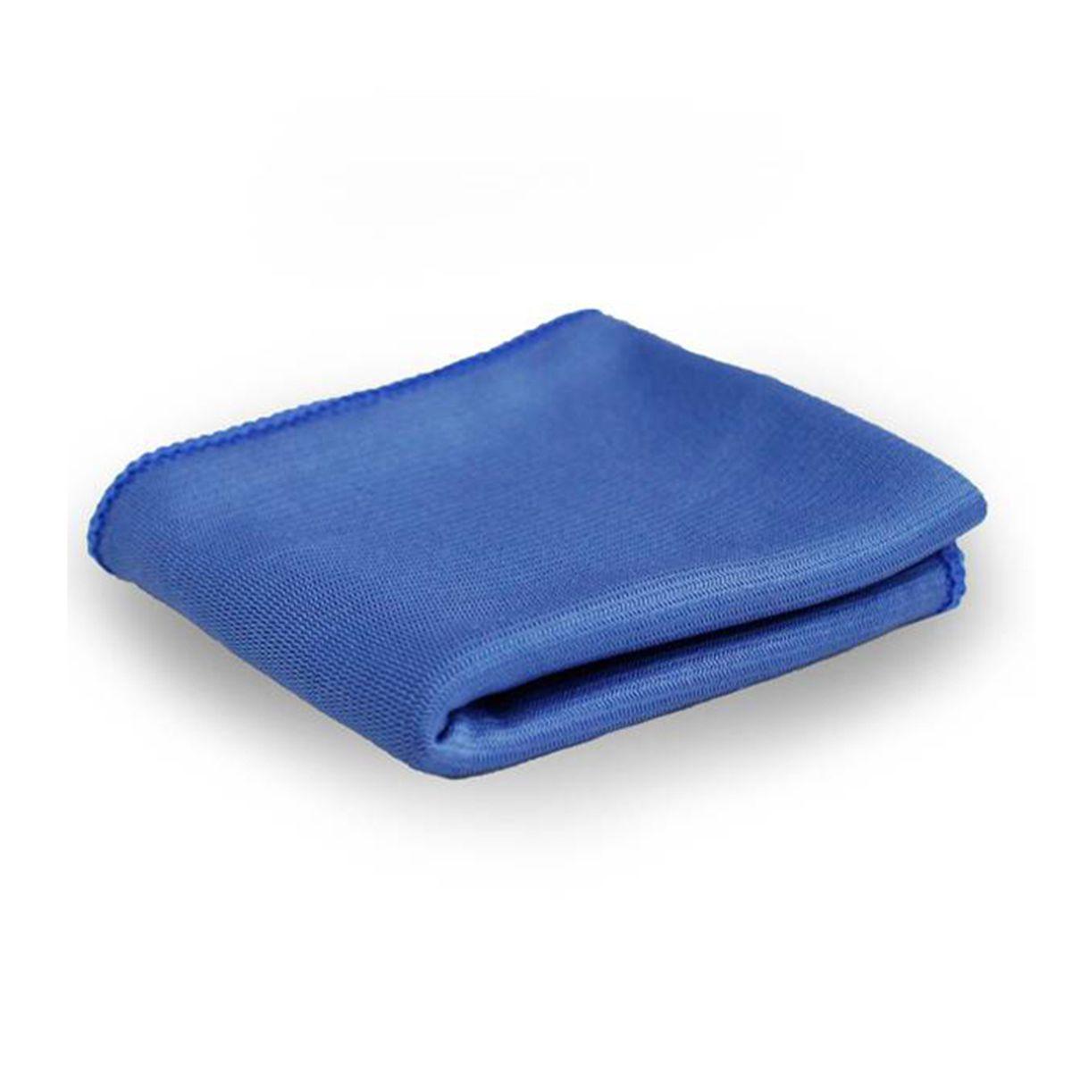 Pano de Vidro 38X38cm Azul 4Wash
