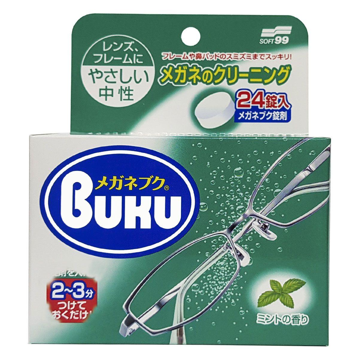 Pastilhas de Limpeza Higienizadora de Óculos 24 Unidades Soft99