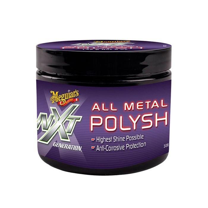 Polidor De Metais Nxt Generation All Metal Polysh Meguiars com Brinde