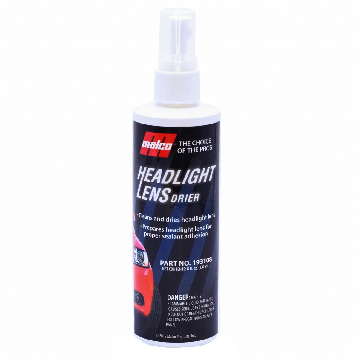 Preparador de Lente Headlight Lens Drier 237ml Malco