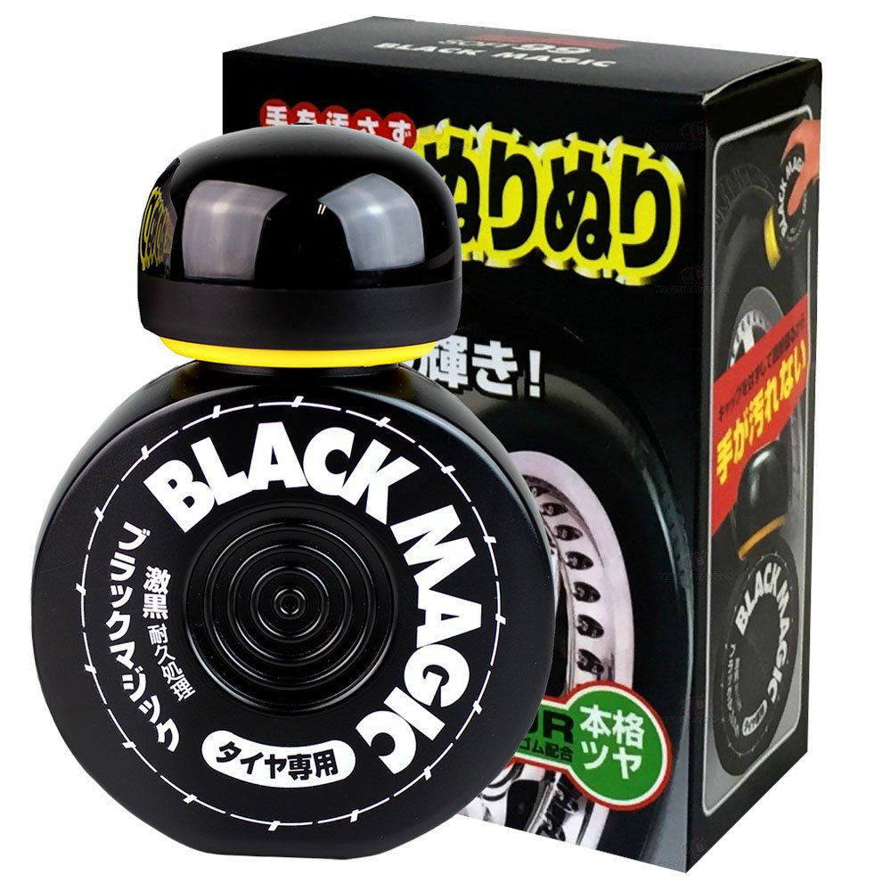 Pretinho Black Magic Cleaner 150ml Soft99