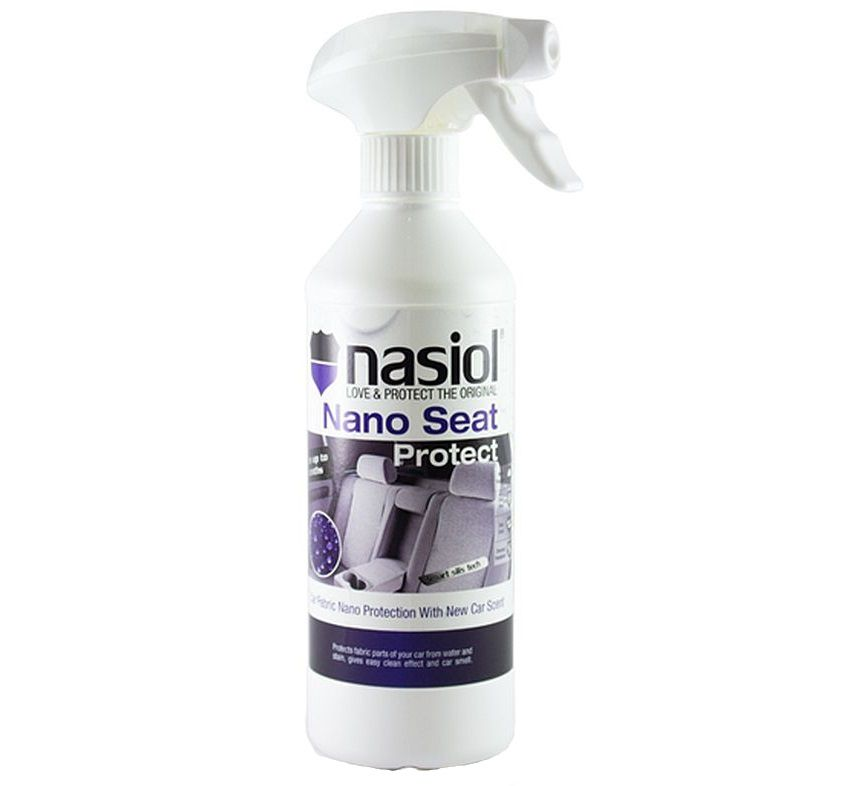 Protetor de Tecido e Couro Nano Seat Protect 500ml Nasiol