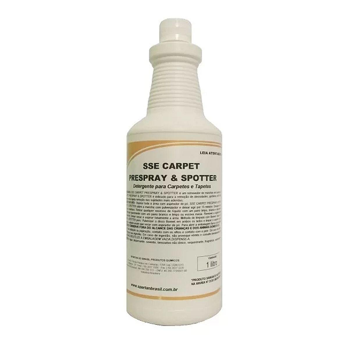 Removedor De Manchas Em Carpetes Sse Carpet Prespray & Spotter Spartan 1L
