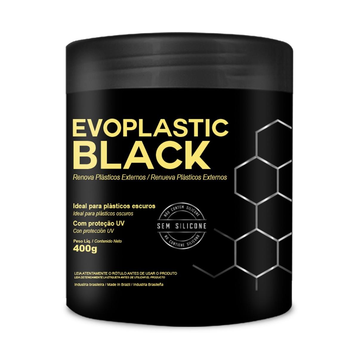 Renova Plásticos Externos Evoplastic Black 400g Evox
